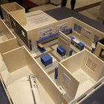 Foto da Planta tridimensional do centro de Memória.
