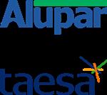 Logotipos Alupar e Taesa