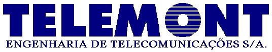 Logotipo Telemont Engenharia de Telecomunicações S/A