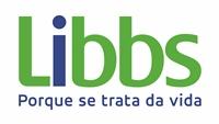 """Logo da Libbs, com o subtítulo """"Porque se trata da vida""""."""