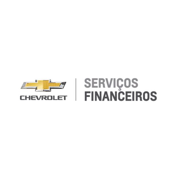 Descrição da imagem: logotipo da Chevrolet Serviços Financeiros