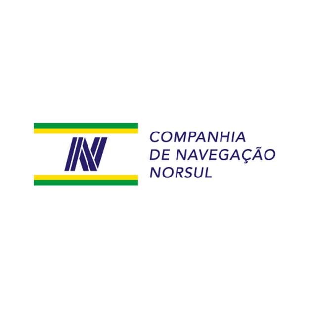 Descrição da imagem: logotipo da Companhia de Navegação Norsul