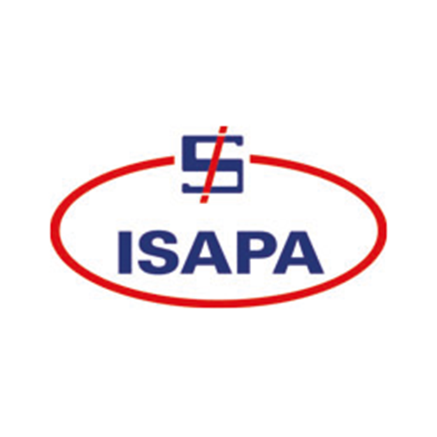 Descrição da imagem: logotipo da Isapa