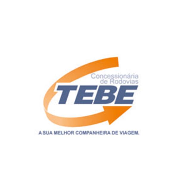 Descrição da imagem: logotipo da Tebe