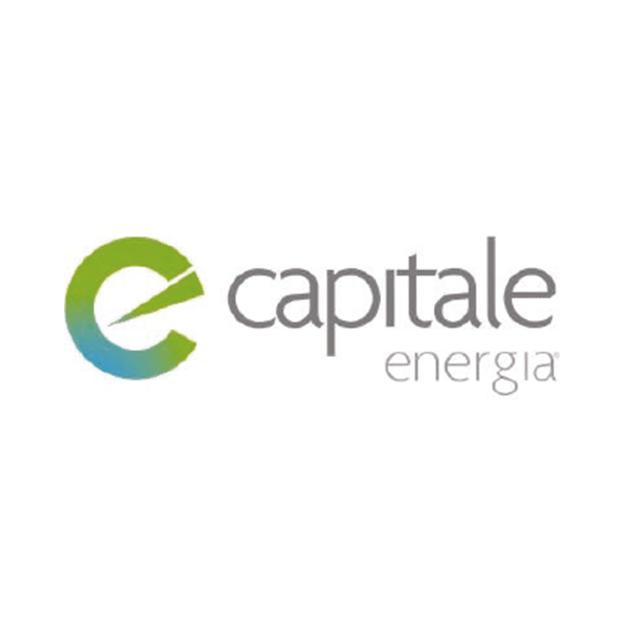 Descrição da imagem: logo da empresa Capitale Energia