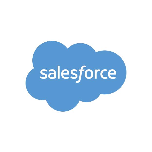 Descrição da imagem: logotipo da Salesforce