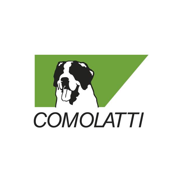 Descrição da imagem: logotipo da Comolatti