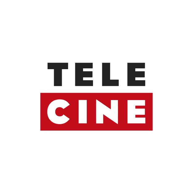 Descrição da imagem: logotipo do Telecine