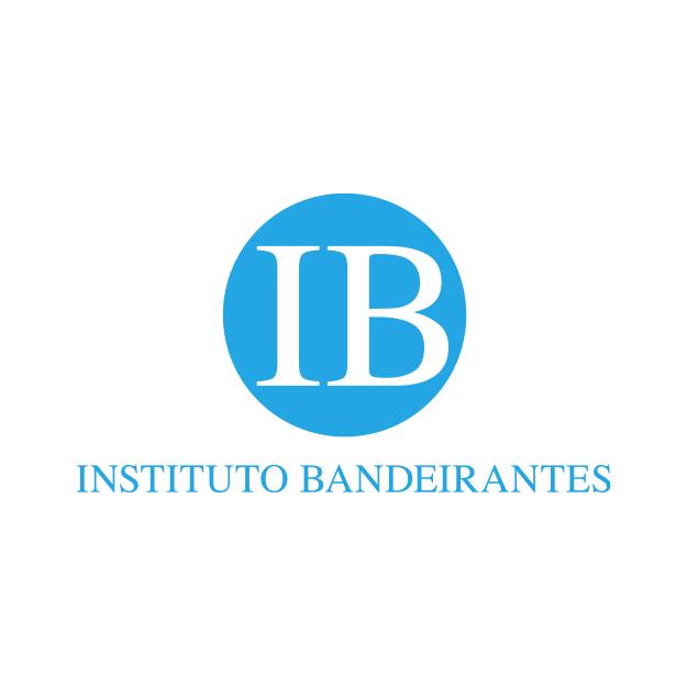 Descrição da imagem: logotipo do Instituto Bandeirantes