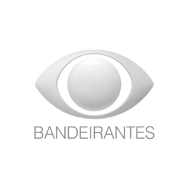 Descrição da imagem: logotipo da Bandeirantes